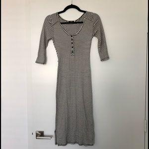 BDG striped bodycon dress, size S.